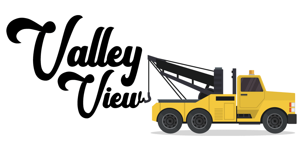 Valley View Towing logo concept