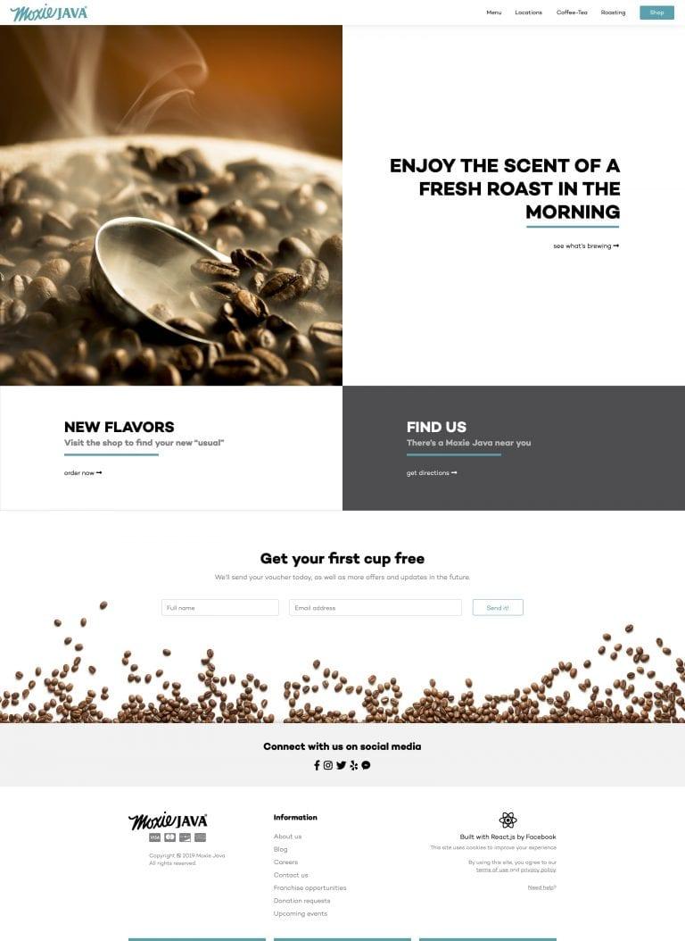 Moxie Java – Website Renderings